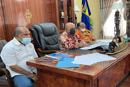 Jokowi Minta Lukas Enembe Kebut Vaksinasi Untuk Persiapan PON dan Perparnas Papua