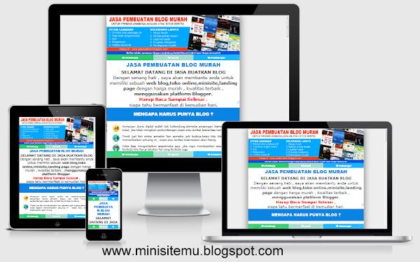 Landing Page Blogspot Terbaru