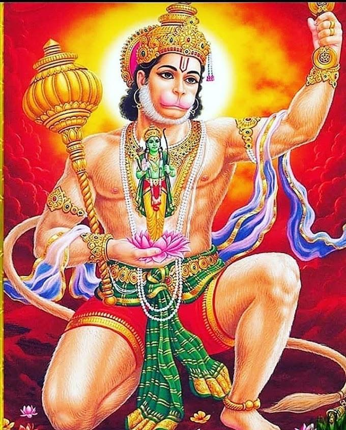 Aarti of Hanuman JI, हनुमान जी की आरती IN HINDI AND ENGLISH