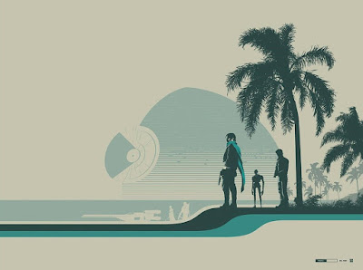 "C2E2 2017 Exclusive Star Wars Rogue One ""Jyn Erso (Scarif)"" Screen Print by Justin Van Genderen x Galerie F"