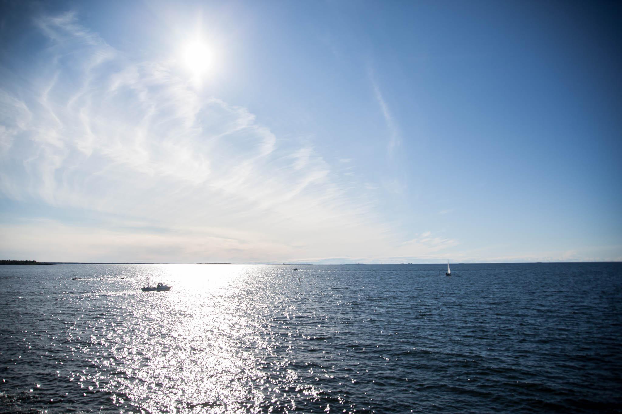 Trullevinniemi Kokkola meri