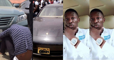 Nigerian Medical doctor/hacker who bought N28m Porsche car with fake bank alert arrested