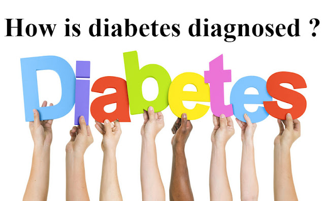 How is diabetes diagnosed ?