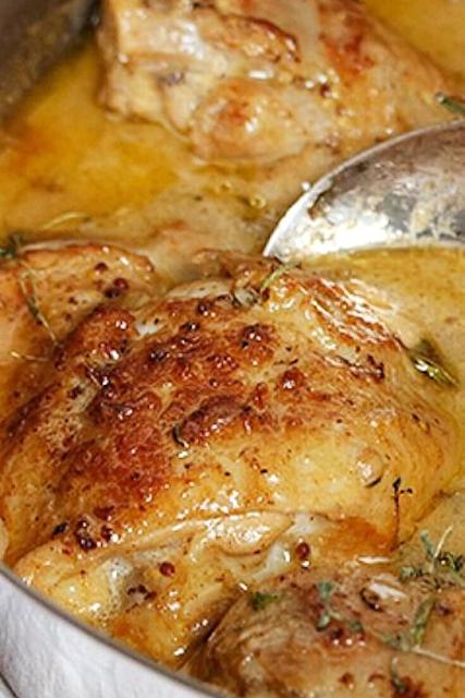 Chicken with Mustard