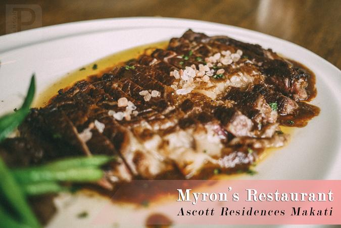 Satisfy Your Steak Cravings at Myron's in Ascott Makati