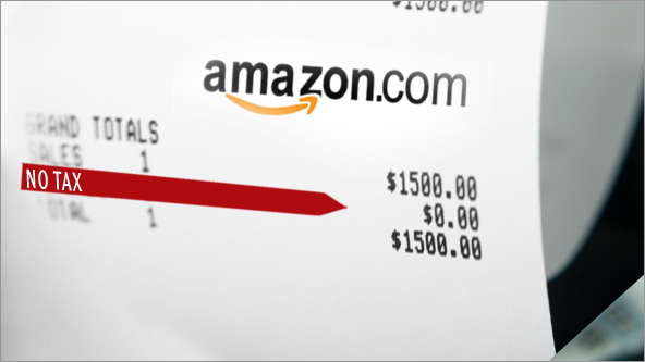 Amazon avoiding sales tax