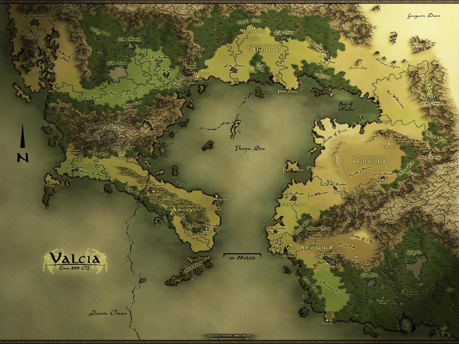Ecos Do Alem Mapas Para Sua Campanha De Rpg