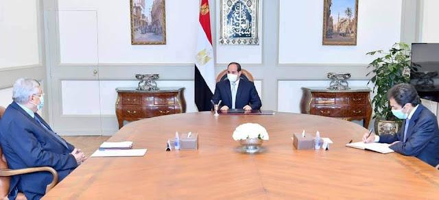 الرئيس السيسي يتابع مستجدات المبادرات الرئاسية في قطاع الصحة على مستوى الجمهورية