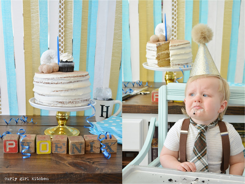 Birthday Party, First Birthday, Doughnut Cake, Smash Cake, Breakfast Cookies, Boy's Birthday