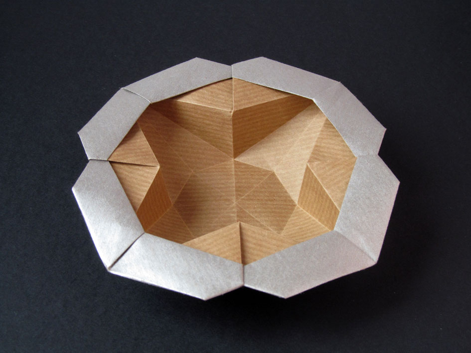 Origami Scatola Stella-fiore - Flower-star box, Francesco Guarnieri