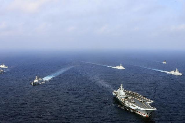 Rombongan kapal perang China