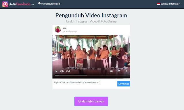 Download Video di Instagram