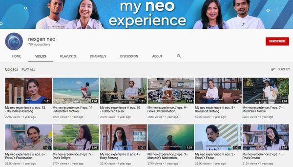 neo study video testimony