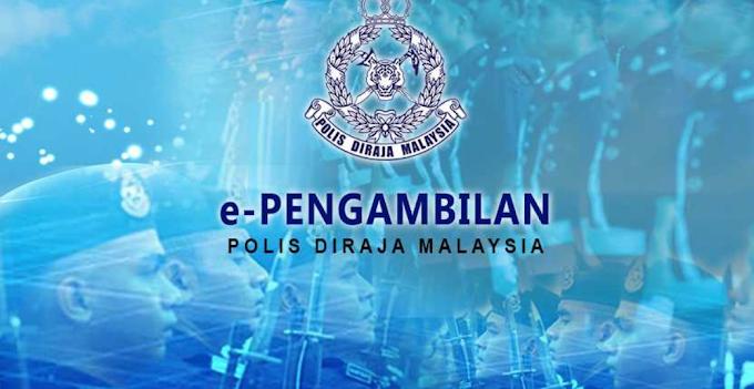Panggilan Eksesais Temu Duga Pengambilan Polis Diraja Malaysia Tahun 2020