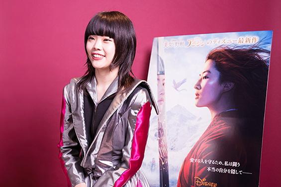 BiSH AiNA THE END Berbicara Kesan Setelah Menonton Mulan Live-Action