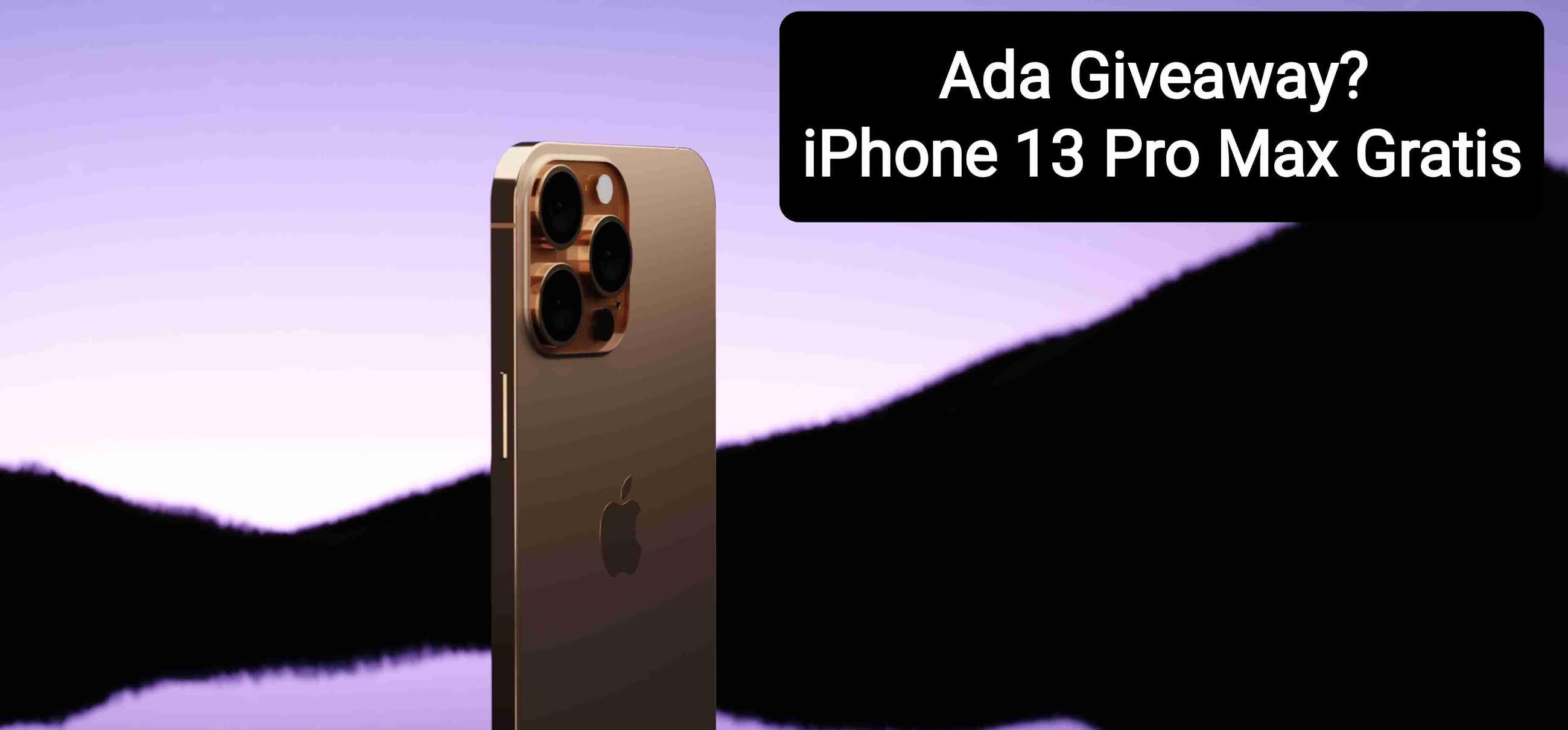 cara mendapatkan iphone 13 pro max gratis