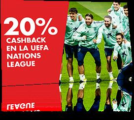 20% CASHBACK EN LA UEFA NATIONS LEAGUE