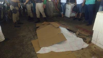 c044e340 0770 4a9e afdb d4dc76436798 - Comerciante é assassinada no interior do Centro de Abastecimento.
