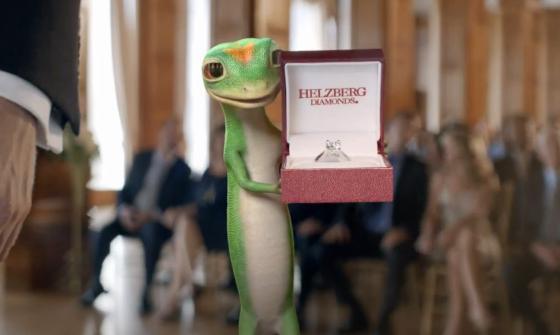 GEICO Gecko Helzberg Diamonds Commercial 2012 The Best Man | AdStasher