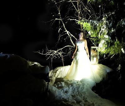 kaunis, nainen, enkeli, lumiprinsessa, jääprinsessa, neito, talvi, toivo