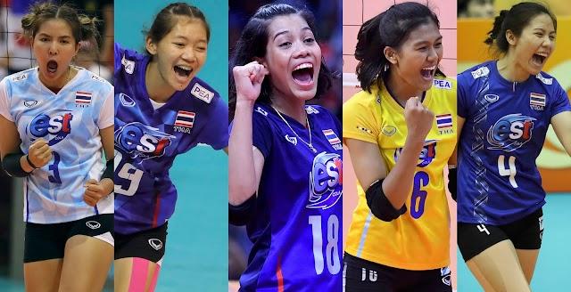 Thế hệ tiếp theo của bóng chuyền nữ Thái Lan đã bắt đầu