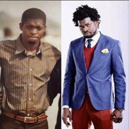 Money good for body oo! See Comedian Basket-mouth's surulere photo (Before and After)