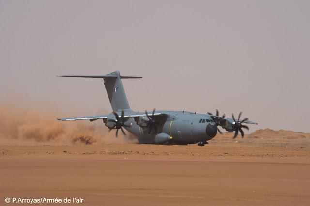 FRENCH AIR FORCE PRAISES A400M