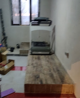 Running machine is moved as well