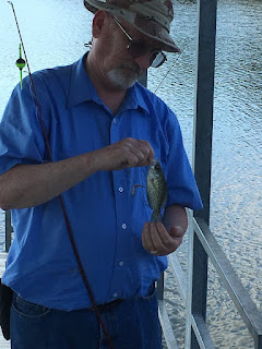 Crappie Fishing, Lake Fishing, Small Crappie