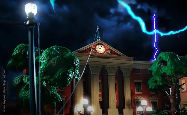 Lightning City Hall Playmobil Back To The Future - Calendario de Adviento (©Playmobil Geobra Branstätter)