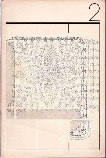Patrón de Sobrecama