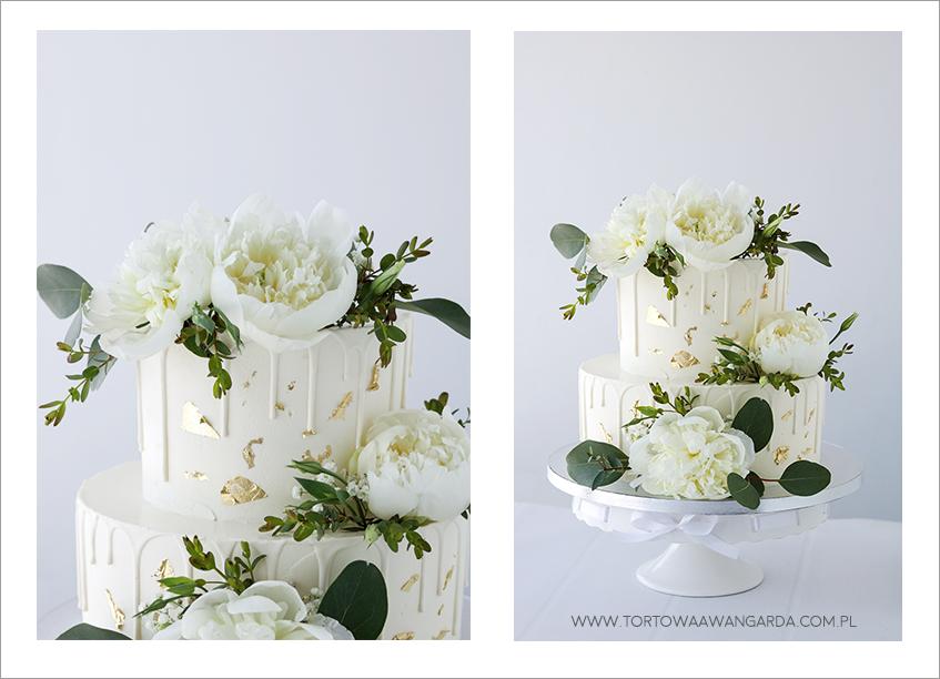 Drip cake na wesele Warszawa