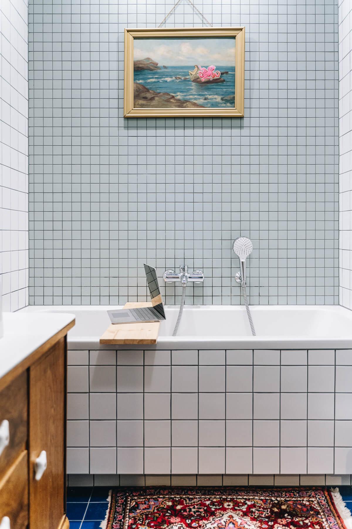 obraz w łazience