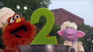 Murray and Ovejita, Number Cookoff number 2. Sesame Street Episode 4417 Grandparents Celebration season 44