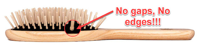 Vegan TEK wooden brush