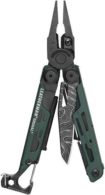 LEATHERMAN, Signal Camping Multitool with Fire Starter - trendingshoppingdeals.com
