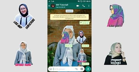 Contoh Stiker WhatsApp
