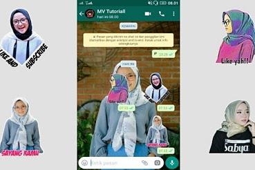 Cara Membuat Stiker WhatsApp yang Tidak Ribet