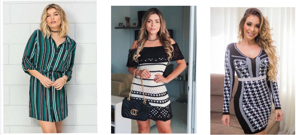 dica de como usar vestido curto