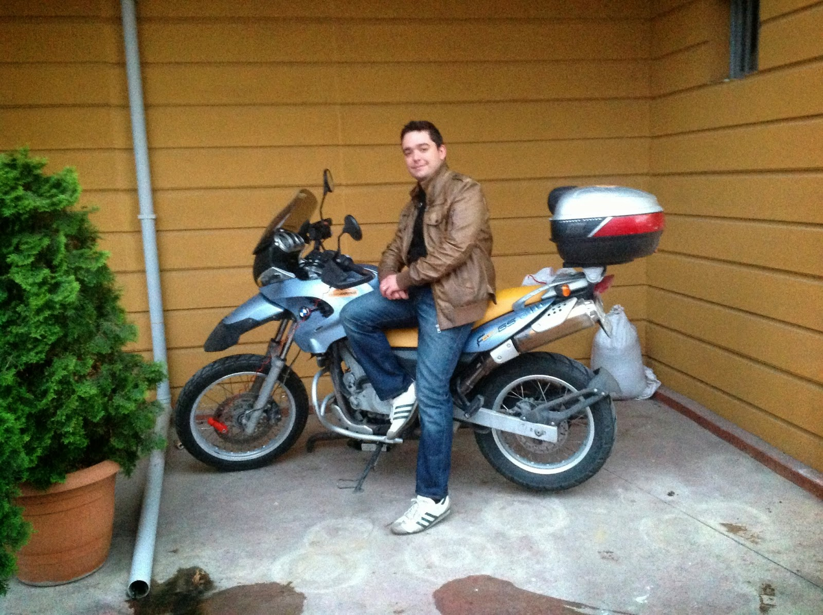 Motorsiklet Gunluklerim Bmw 2000 Model F650 Gs Gezilerim