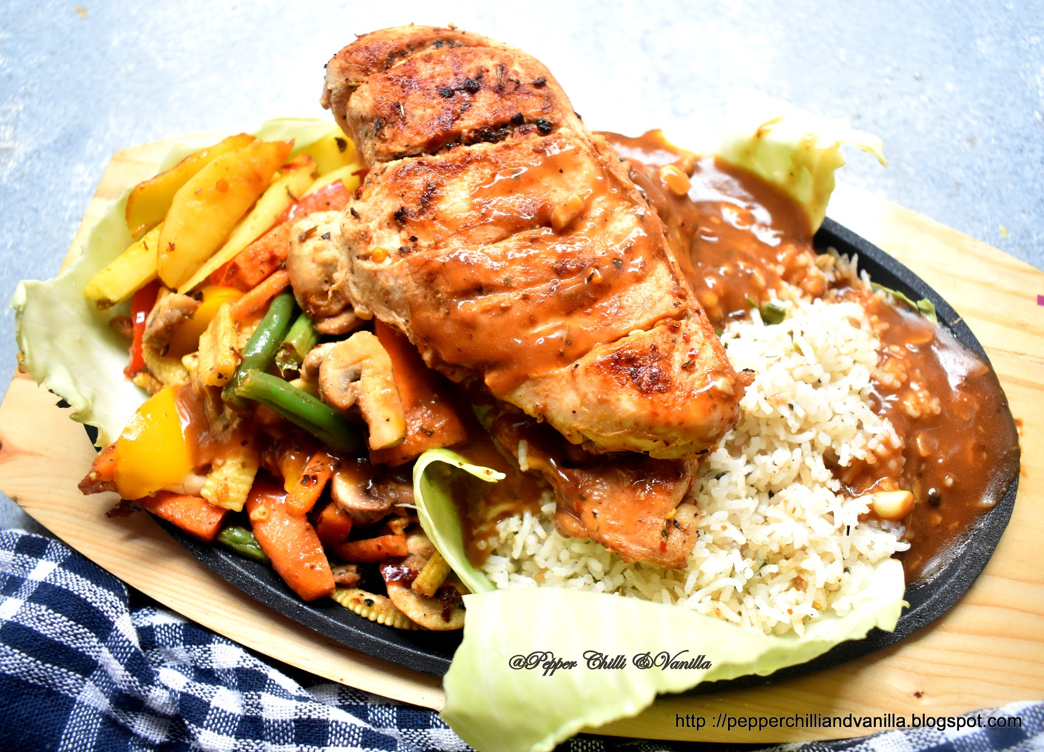 grilled chicken sizzler recipe
