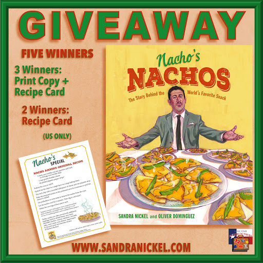 Nacho's Nachos tour giveaway graphic. Prizes to be awarded precede this image in the post text.