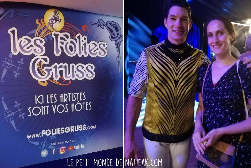 Gruss Cirque : thème les années folles