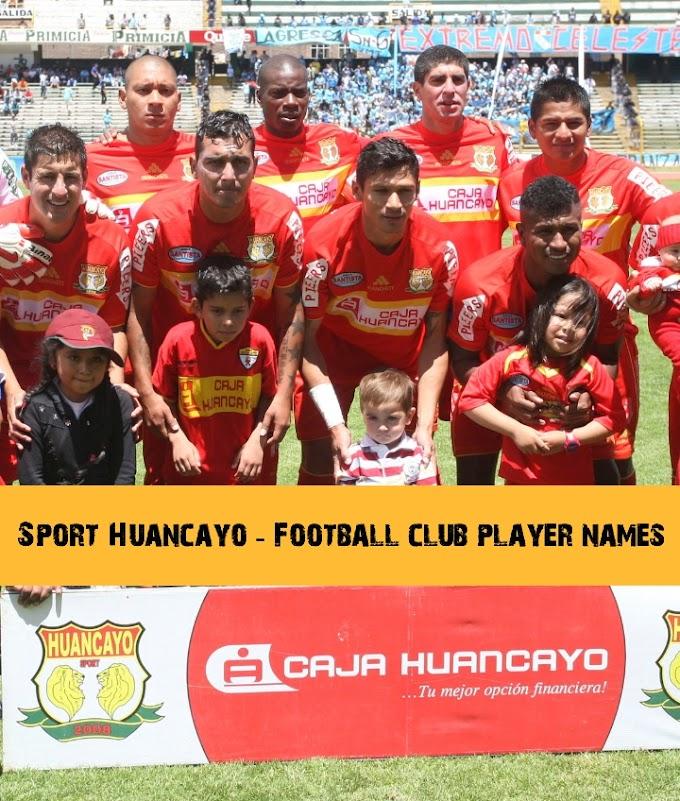 Sport Huancayo - Football club player names