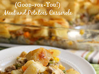 Good-for-You Meat and Potatoes Casserole