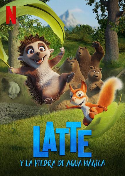 Latte y la piedra de agua mágica (2020) NF WEB-DL 1080p Latino