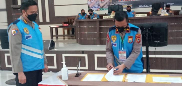 Wakapolda Sulsel, Pimpin Sidang Terbuka Catar (i) Akpol, Menuju Rikkes Tahap Ke-2 Penerimaan Terpadu Anggota Polri TA  2021
