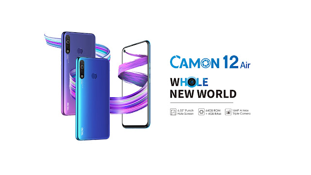 tecno Camon 12 Air  Price