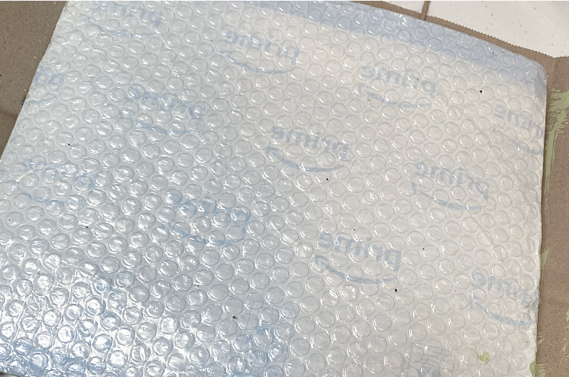 Amazon plastic mailer inside out