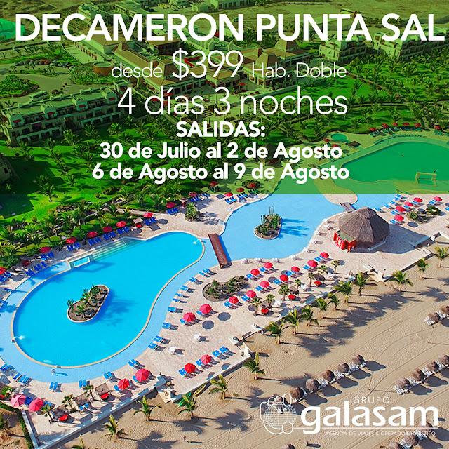 DECAMERON PUNTA SAL SALIDAS CONFIRMADAS